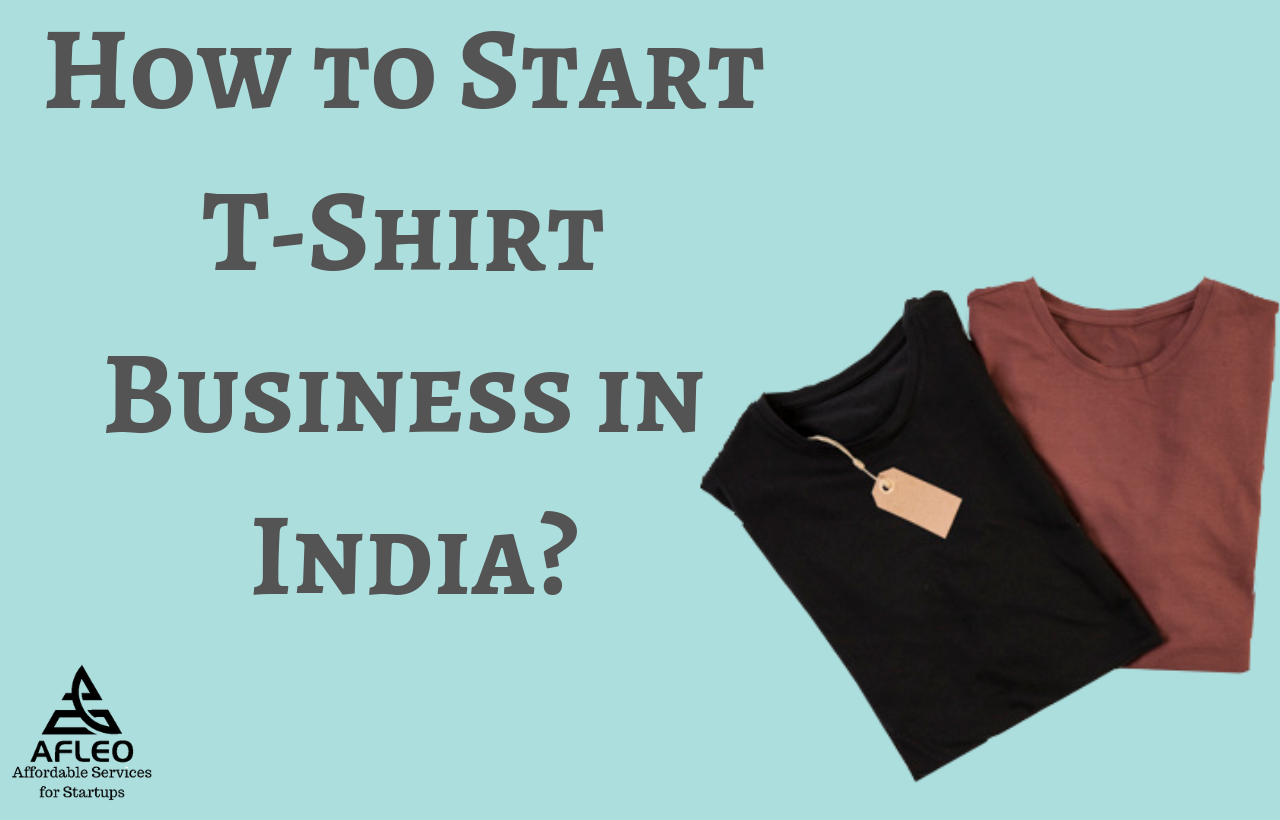 How to start tshirt Business in India